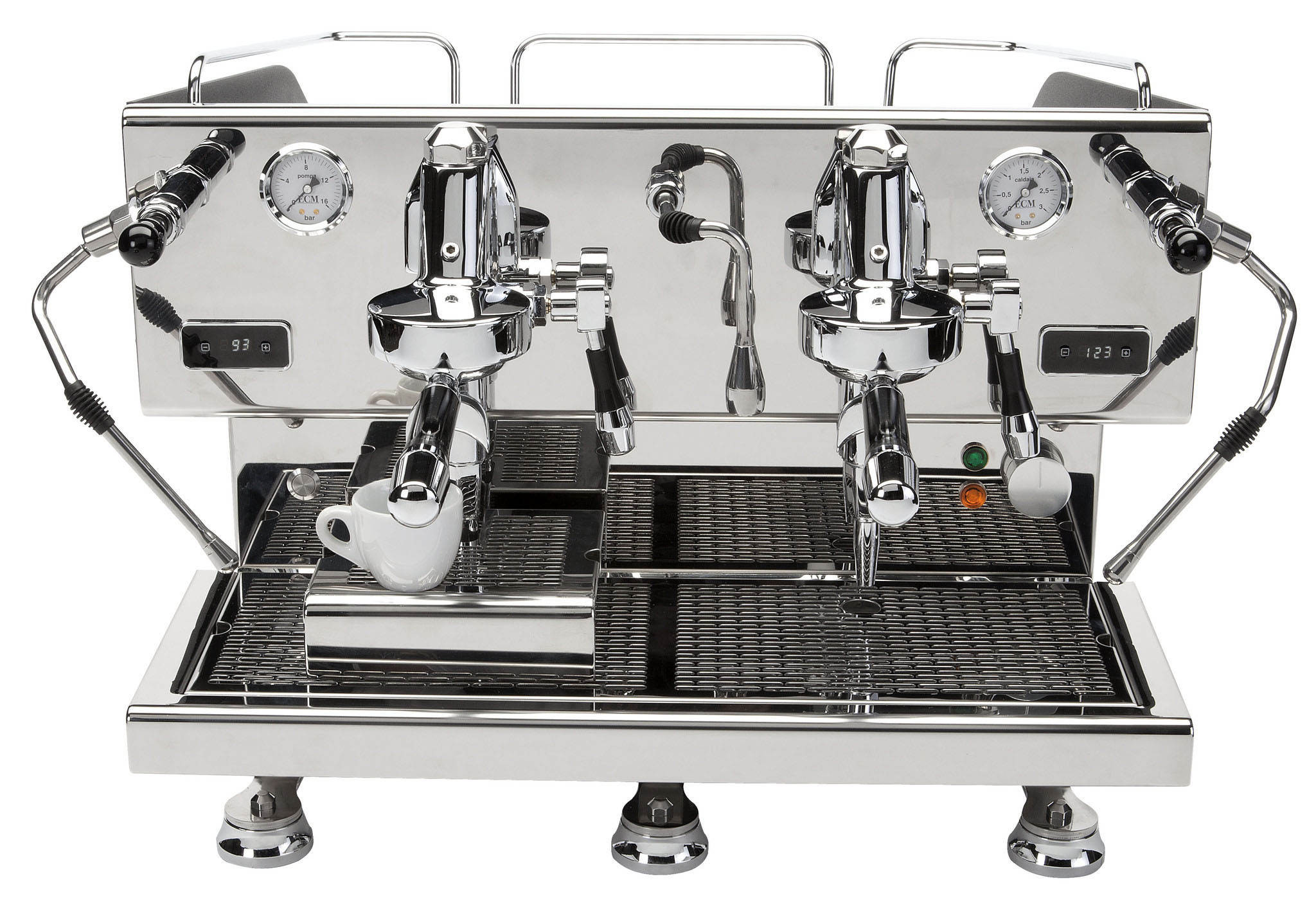 ECM Controvento Due 2 groeps espressomachine