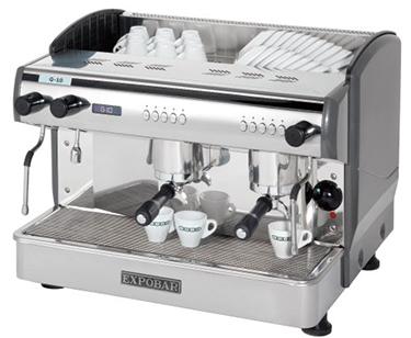 Expobar G-10 2 groeps espressomachine